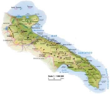 Cartina Dettagliata Puglia.La Puglia Regione Martoriata Stanze Di Ercole